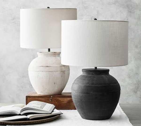 Display a statement lamp